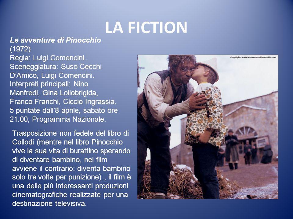 LA FICTION Il segno del comando (1971) Regia: Daniele D'Anza Soggetto: Flaminio Bollini, Giuseppe D'Agata con la collaborazione di Dante Guardamagna, Lucio Mandarà.