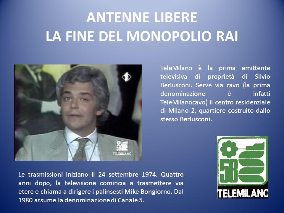 «Tutto comincia quando finisce TeleBiella: il I giugno del 1973 un funzionario del Ministero delle Poste taglia e sigilla i cavi dell'emittente, divenuta fuorilegge con un decreto del ministro Gioia.