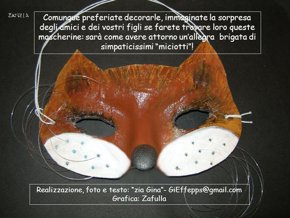 Ecco come cambia l'espressione, solo spostando il bottoncino del naso: un po' più in alto, un taglietto più ampio sotto il naso e il gatto diventa un