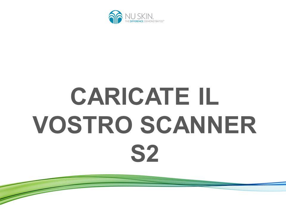 Caricare lo Scanner significa: Inviare i dati delle scansioni effettuate dal vostro Scanner al server Nu Skin in tutto il mondo.