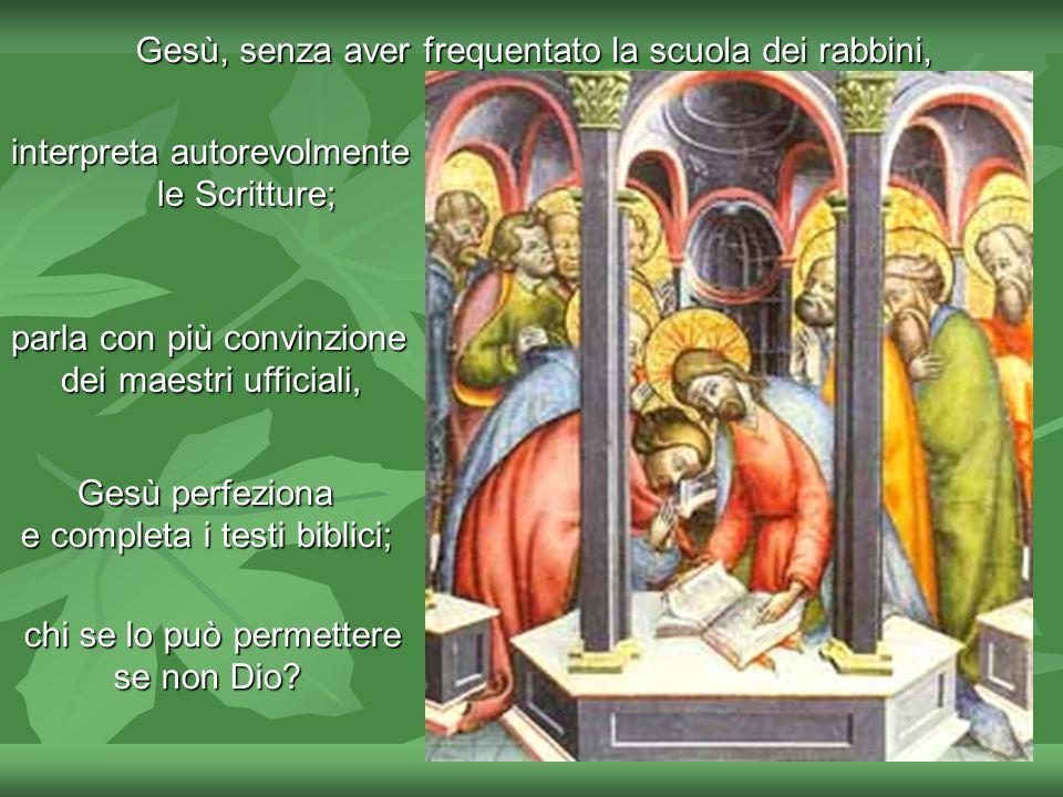 Il Vangelo ci presenta Gesù come la realizzazione del Profeta ultimo e perfetto, colui che porta la parola definitiva del Signore, una parola detta co