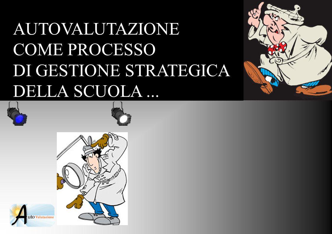 AUTOVALUTAZIONE COME PROCESSO DI GESTIONE STRATEGICA DELLA SCUOLA...