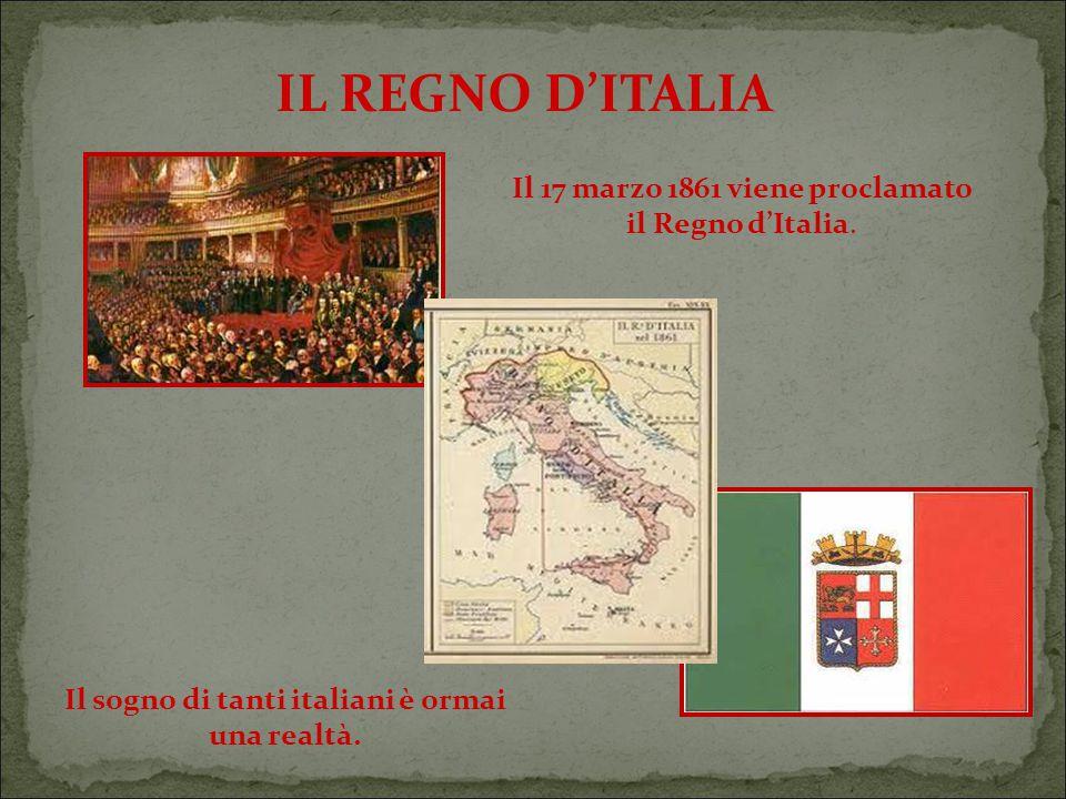 Il sogno di tanti italiani è ormai una realtà.