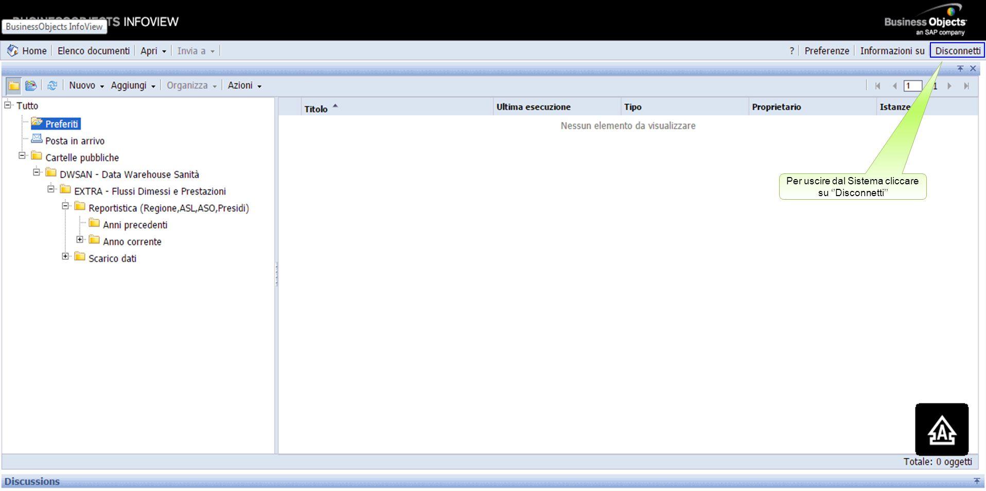 Cliccare sull'etichetta ''File'', se si desidera salvare il documento sul proprio computer Successviamente, cliccare sul comando ''Esci''
