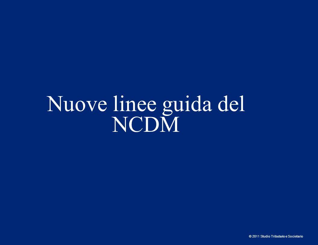 © 2011 Studio Tributario e Societario NCDM – Dichiarazione sommaria di ingresso (art.