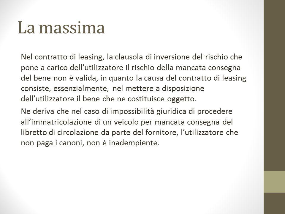 Il fatto Tribunale di Milano M.S.M.