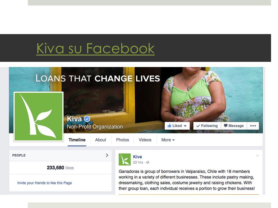 Kiva su Facebook