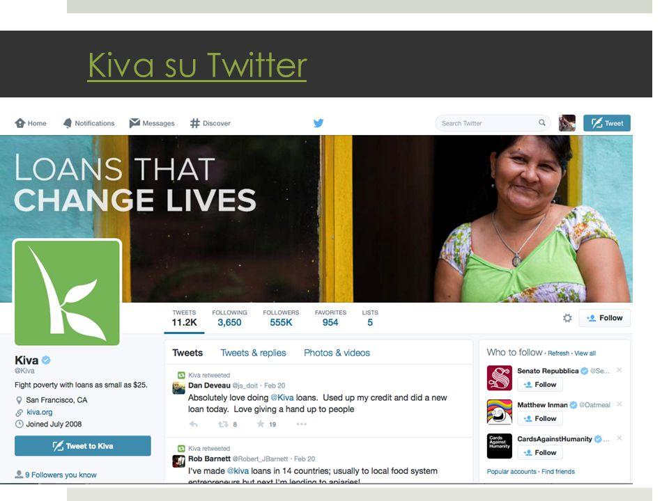 Kiva su Twitter