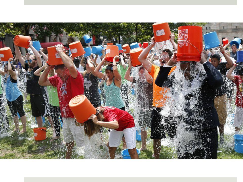 Ice bucket challenge Fonte: http://www.wired.it/attualita/media/2014/08/22/che-vi-piaccia-o-meno-icebucketchallenge-funziona/