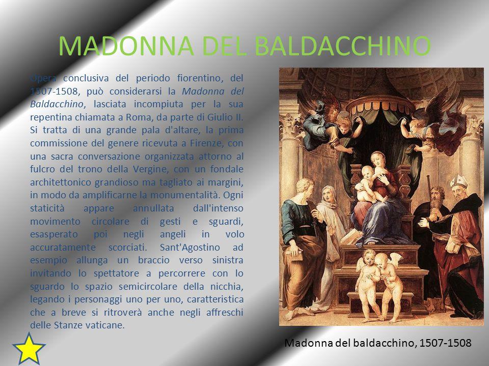 LA TRASFIGURAZIONE Nel 1516 il cardinale Giulio de Medici mise su una sorta di competizione tra i due più grandi pittori attivi in Roma, Raffaello e Sebastiano del Piombo (alle cui spalle stava l amico Michelangelo), ai quali richiese una pala ciascuno da destinare alla cattedrale di Narbonne, la sua sede vescovile.