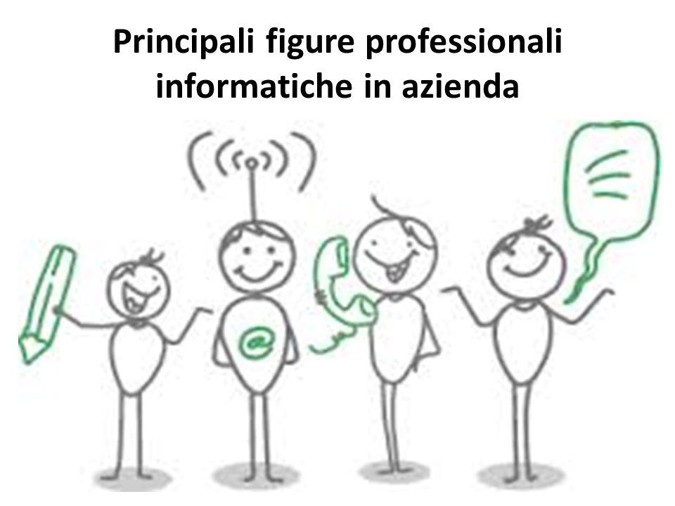 Principali figure professionali informatiche in azienda