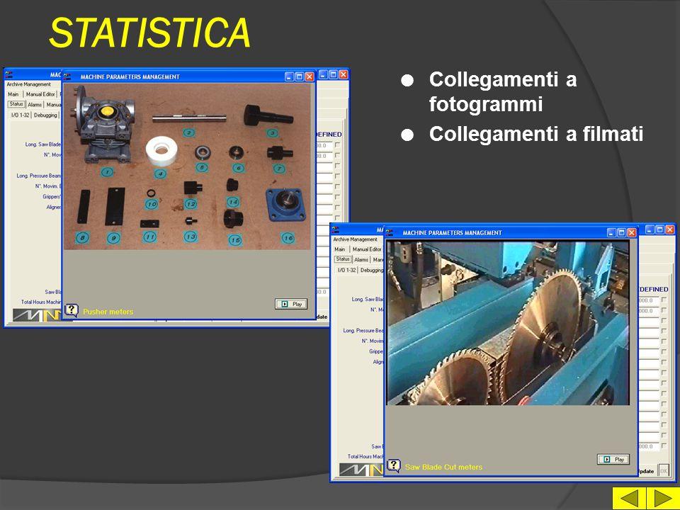 STATISTICA l Salvataggio su file dei dati di statistica, per elaborazioni su foglio di calcolo