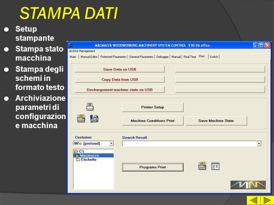 MANUALE RICAMBI l Scelta lingua l Scelta modello di macchina l Modulo D'ordine l Link a sito internet