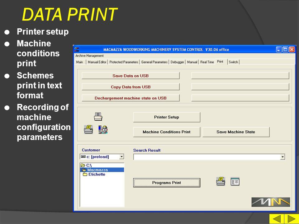 SPARE PARTS MANUAL l Language choice l Machine model choice l Order Form l Link to Internet site