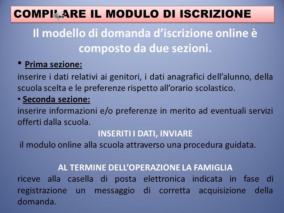 ISCRIZIONE Per eseguire l'iscrizione online è necessario identificare la scuola prescelta, attraverso un codice, chiamato codice scuola. Il codice scu