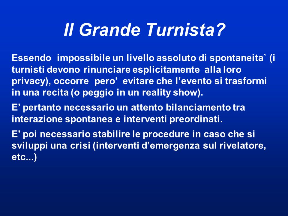 Il Grande Turnista.