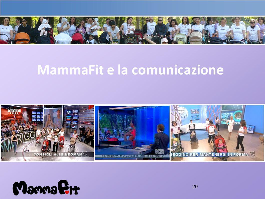 20 MammaFit e la comunicazione
