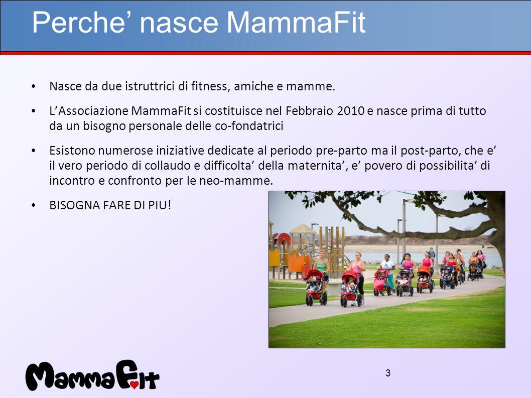 3 Perche' nasce MammaFit Nasce da due istruttrici di fitness, amiche e mamme.