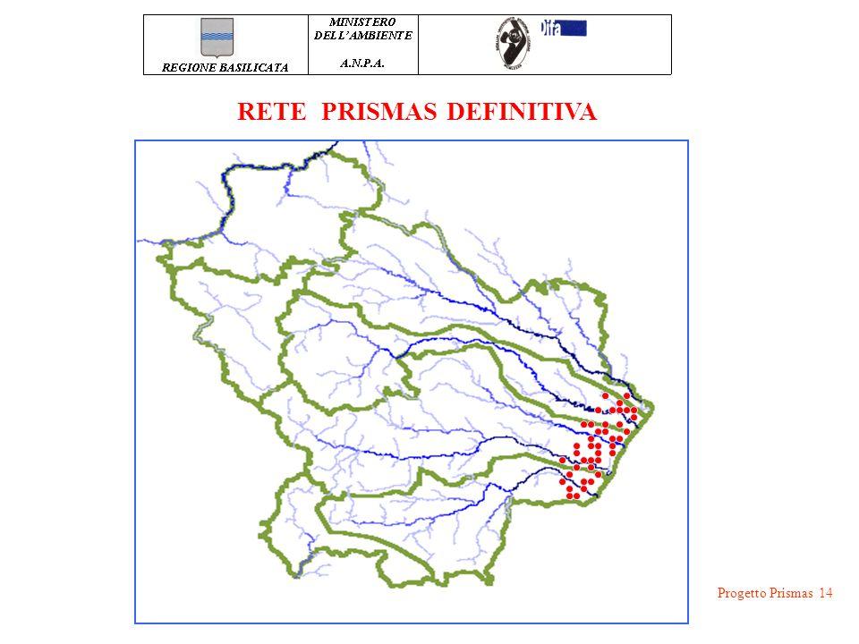 Progetto Prismas 14 RETE PRISMAS DEFINITIVA