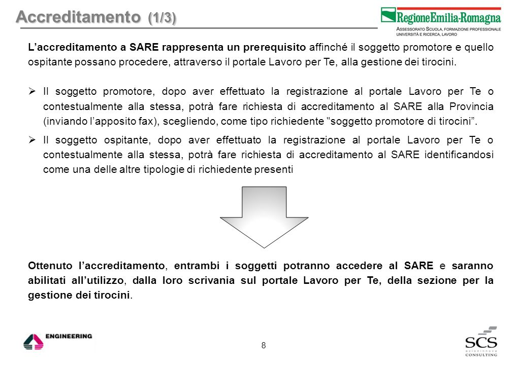 Firme (2/4) L'indicazione dei soggetti che devono validare o hanno già validato, nel caso della convenzione.
