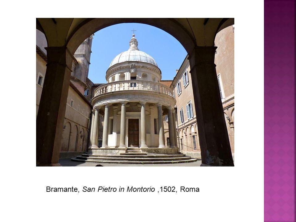 Bramante, San Pietro in Montorio,1502, Roma