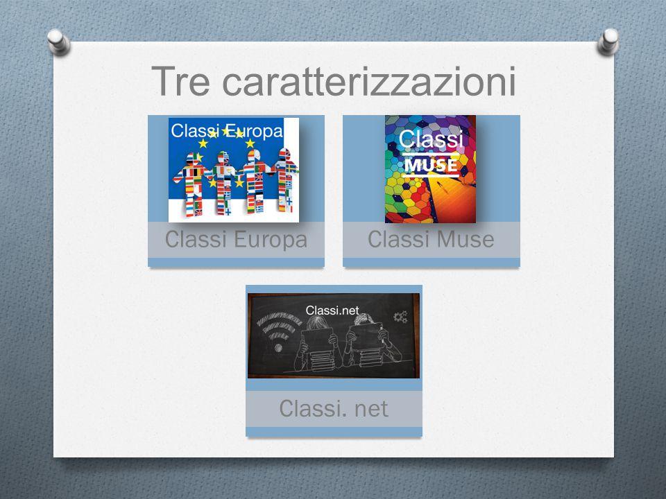 Tre caratterizzazioni Classi EuropaClassi Muse Classi. net