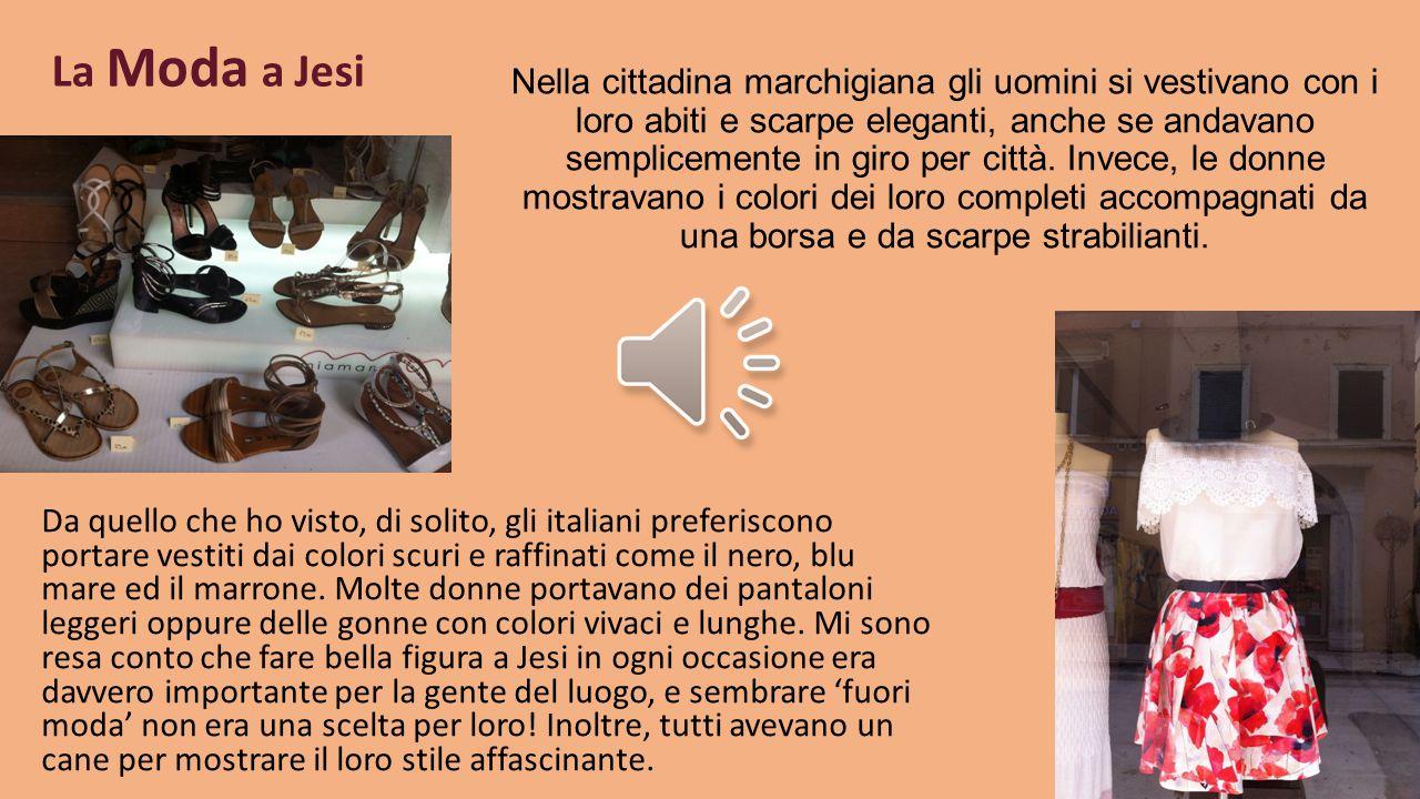 La varietà della moda in ogni posto visitato in Italia Figura 5. Figura 6