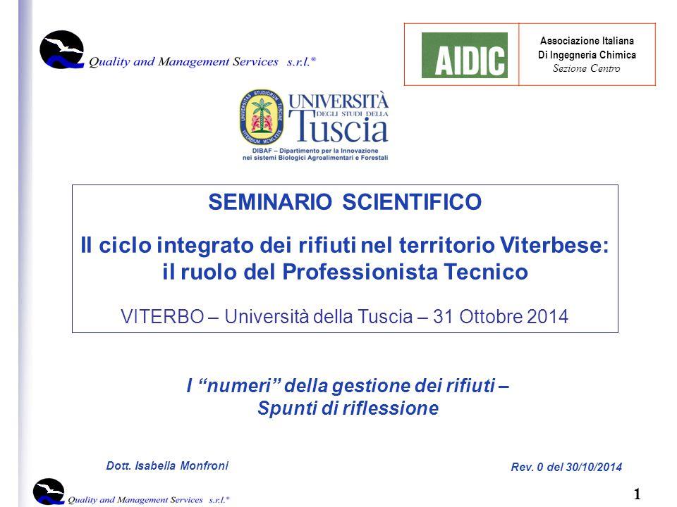 1 Rev. 0 del 30/10/2014 Dott.