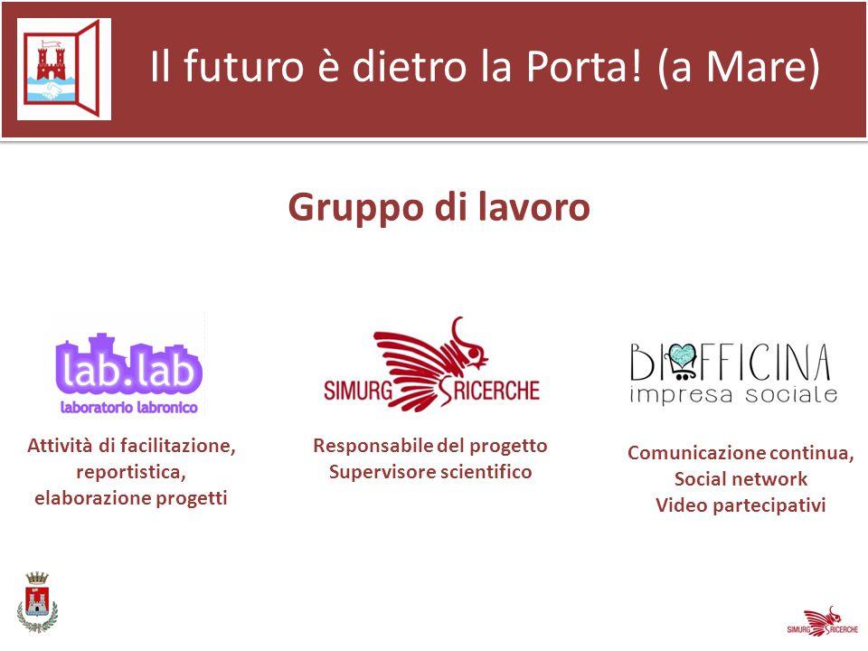 Gruppo di lavoro Il futuro è dietro la Porta.