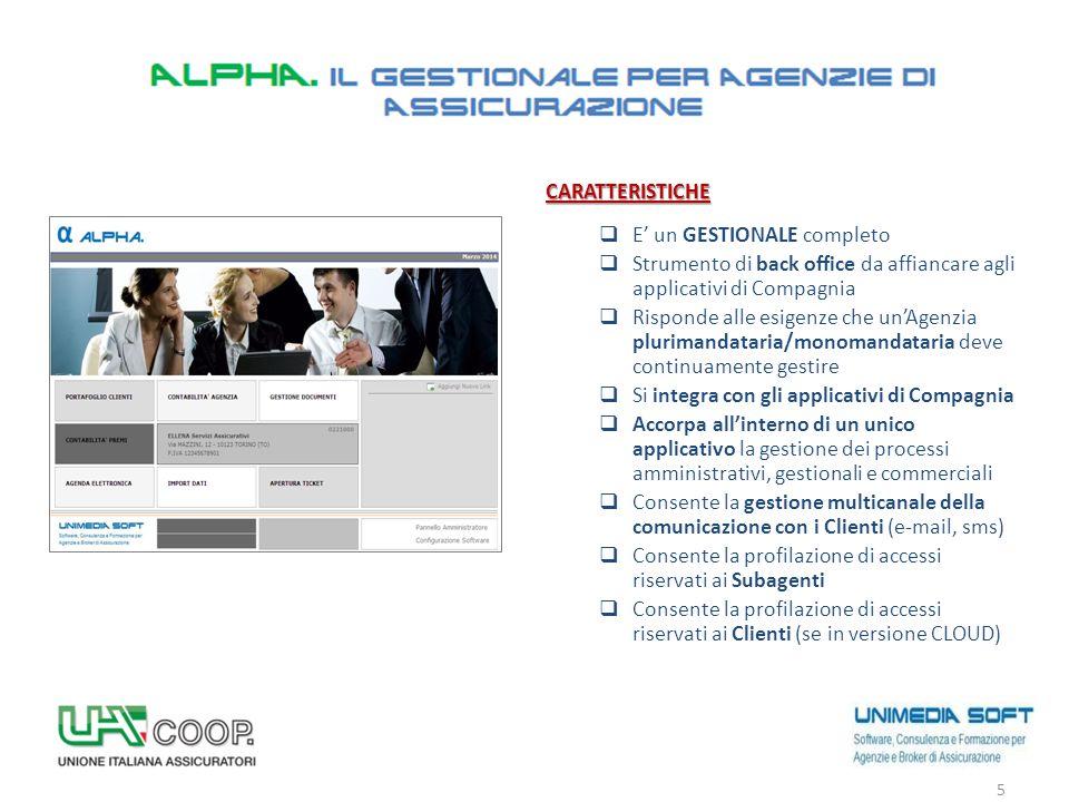 OBIETTIVI  Gestione centralizzata del Cliente  Statistiche  Gestione delle Scadenze  Comunicazioni 6 PORTAFOGLIO CLIENTI