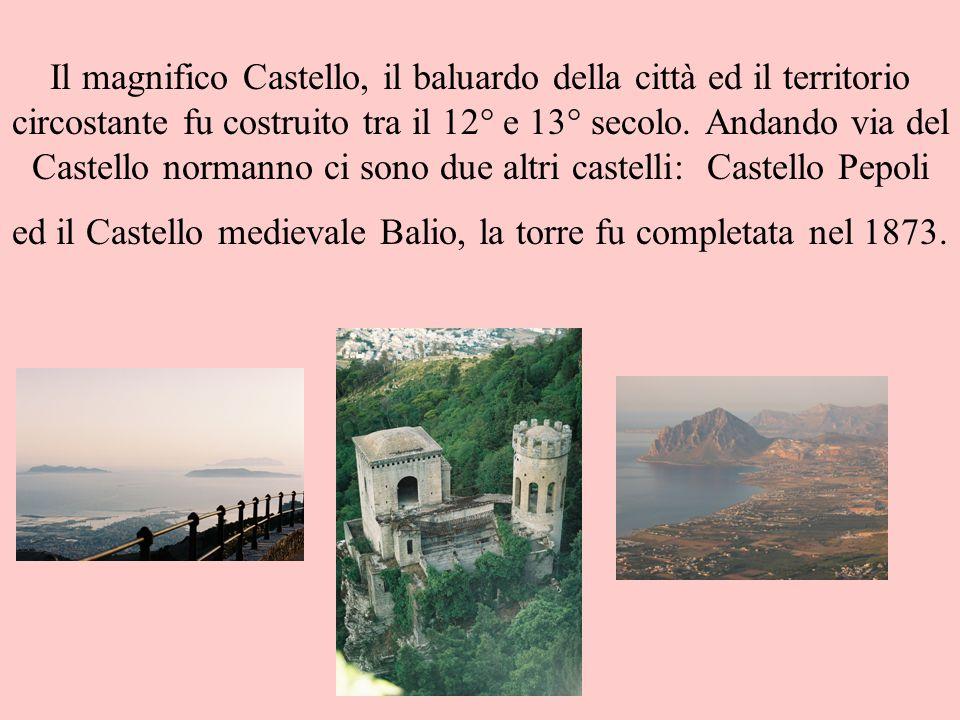 Il magnifico Castello, il baluardo della città ed il territorio circostante fu costruito tra il 12° e 13° secolo. Andando via del Castello normanno ci