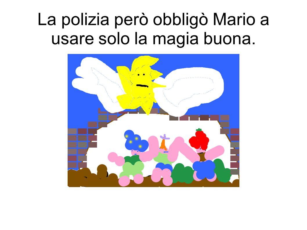 Mario allora chiamò la polizia che obbligò Antonio a restituirli la bacchetta
