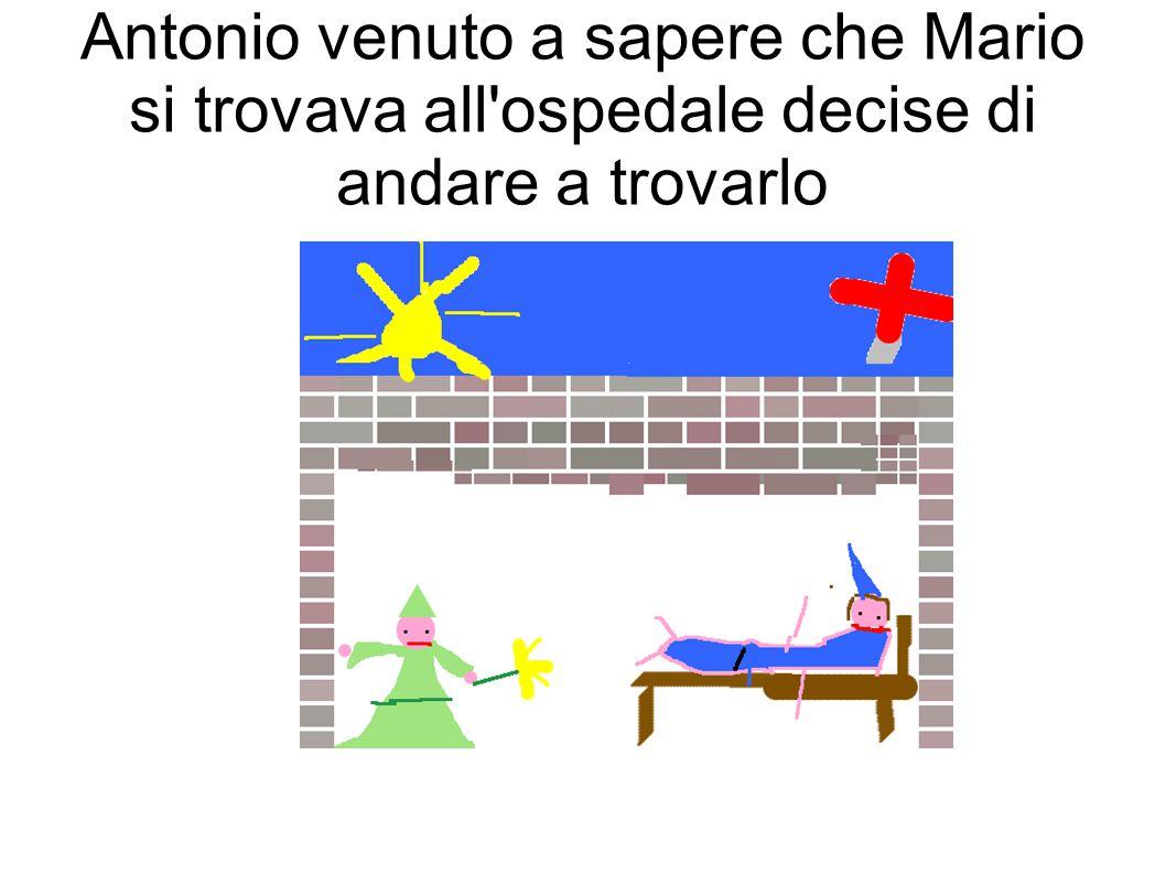 Nel frattempo Mario si trovava all'ospedale dove i dottori lo stavano curando