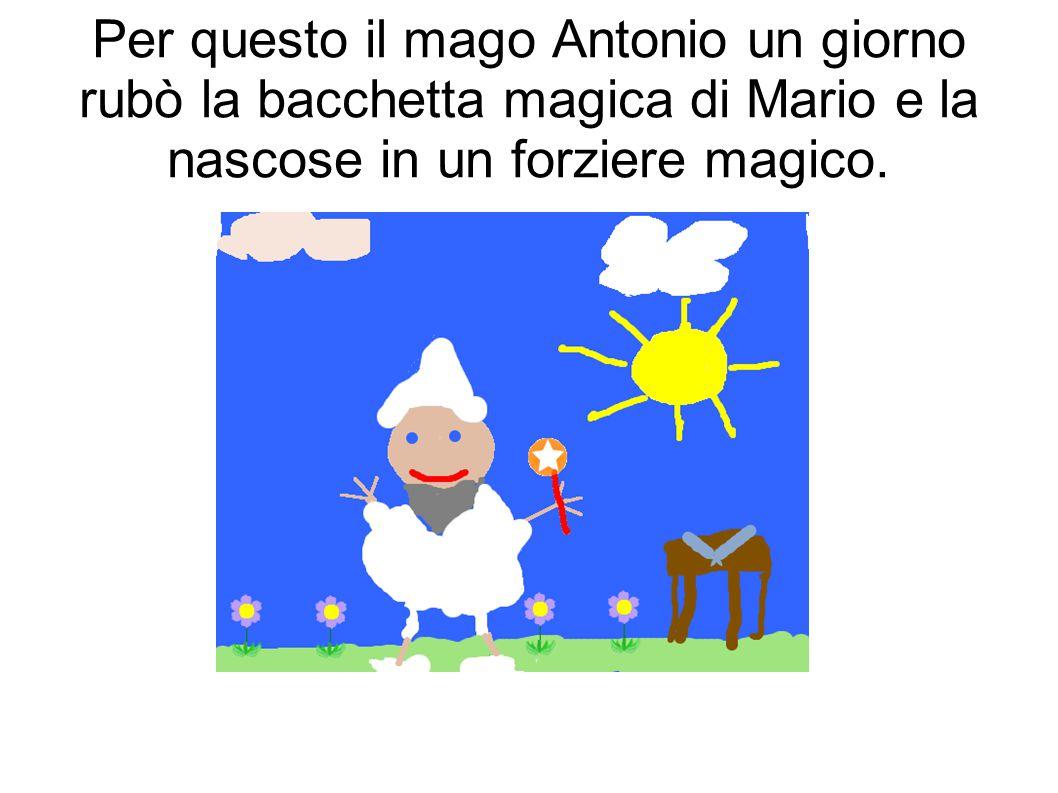 che faceva tante magie cattive per catturare il mago Antonio e conquistare il mondo