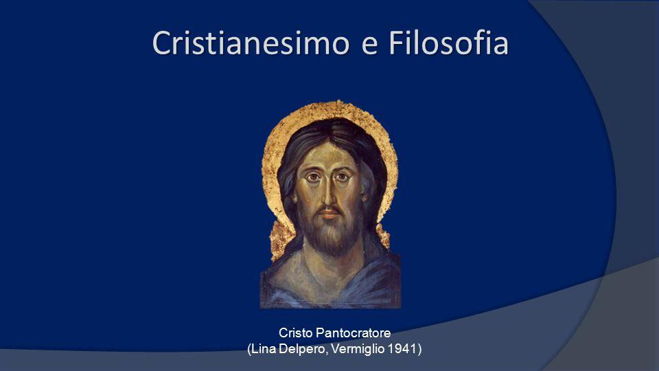 Cristianesimo e Filosofia Cristo Pantocratore (Lina Delpero, Vermiglio 1941)