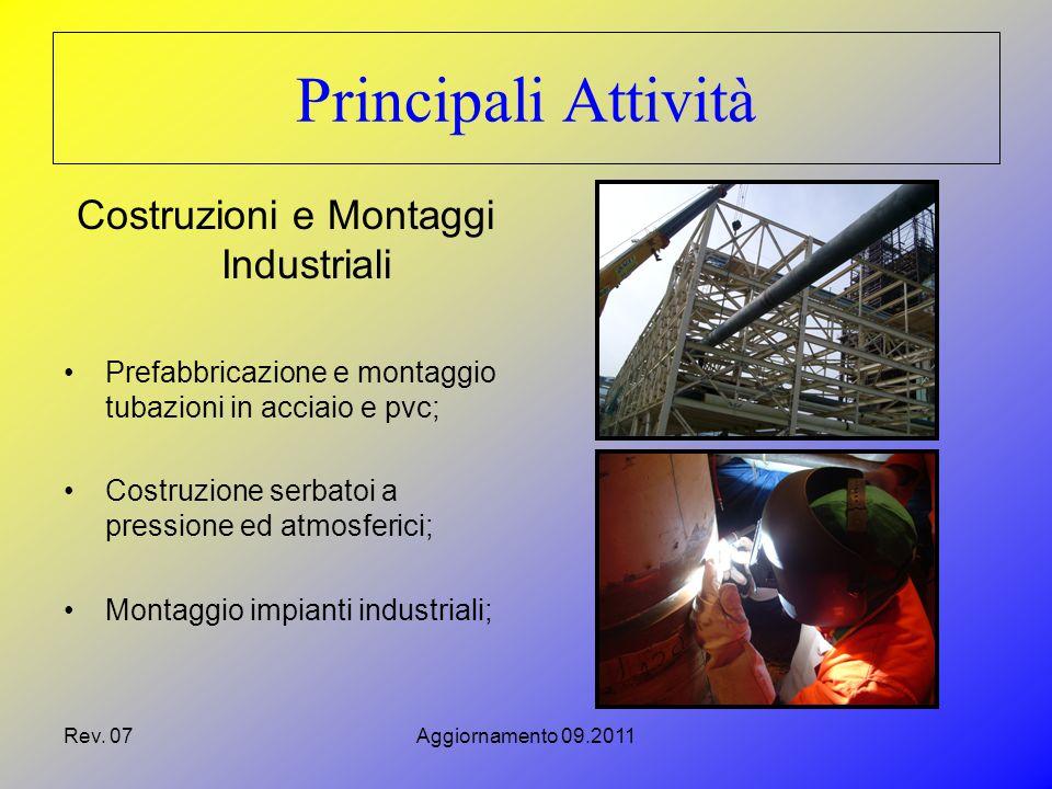 Rev.07Aggiornamento 09.2011 Una società del consorzio, la Sar.co.m.i.