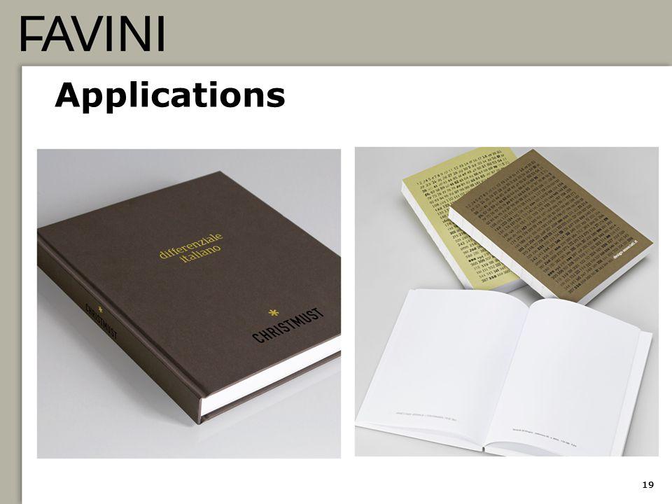 Applications 19