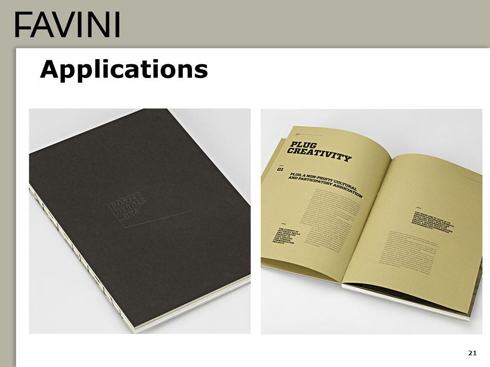 Applications 21