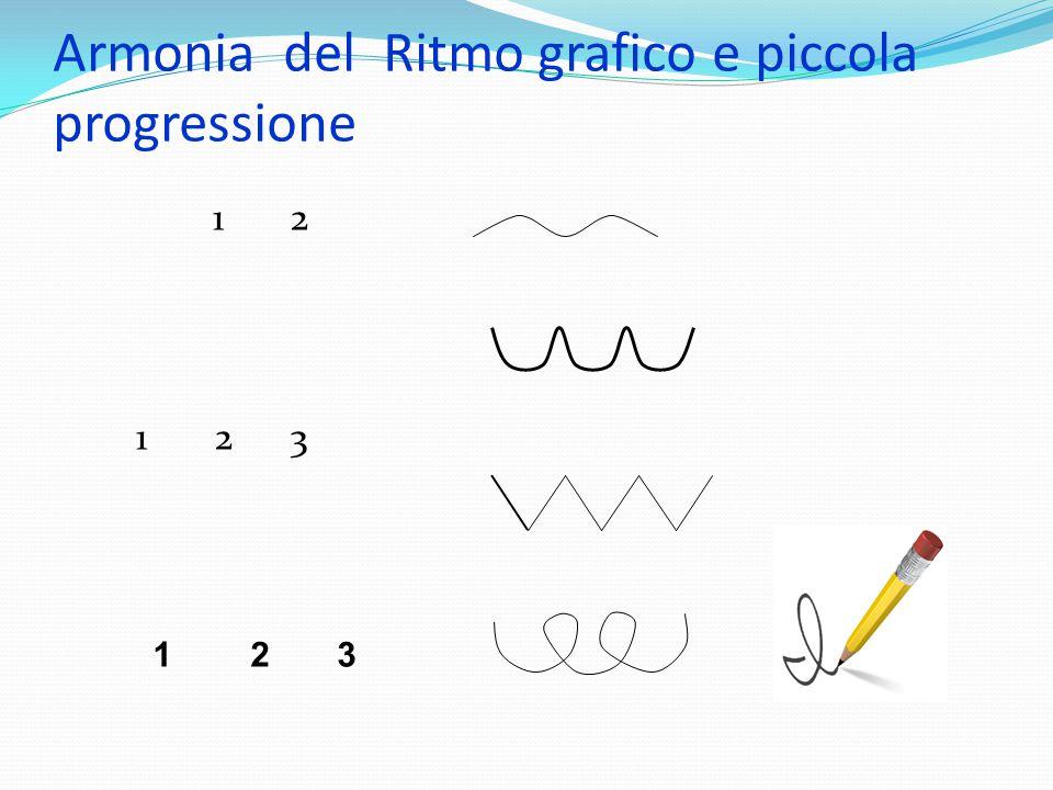 Armonia del Ritmo grafico e piccola progressione 1 2 1 2 3