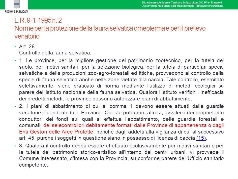 L.R.9-1-1995 n.
