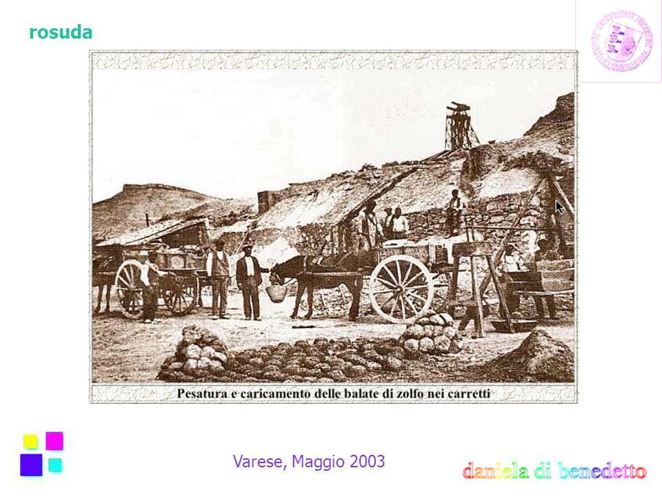 rosuda Varese, Maggio 2003 Vendita Singoli Items Chi acquista una cameretta lo fa quasi sempre come acquisto a sè