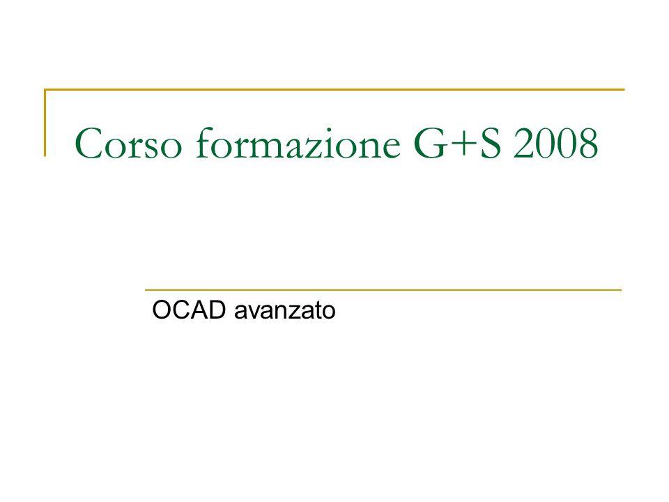 Corso formazione G+S 2008 OCAD avanzato