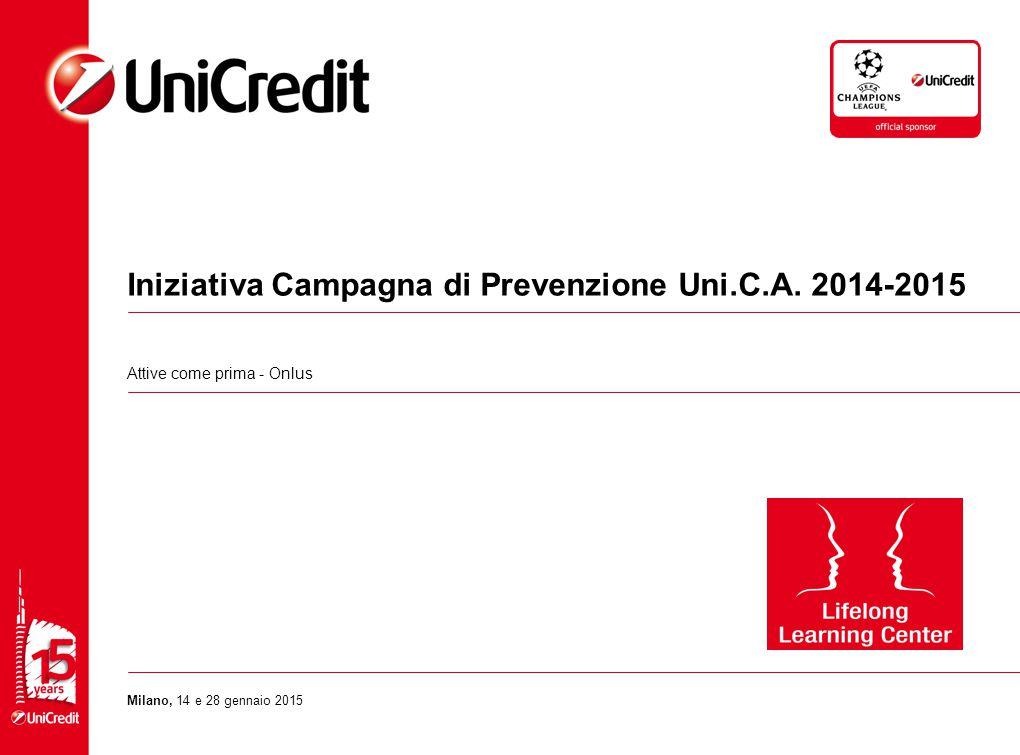 Iniziativa Campagna di Prevenzione Uni.C.A.