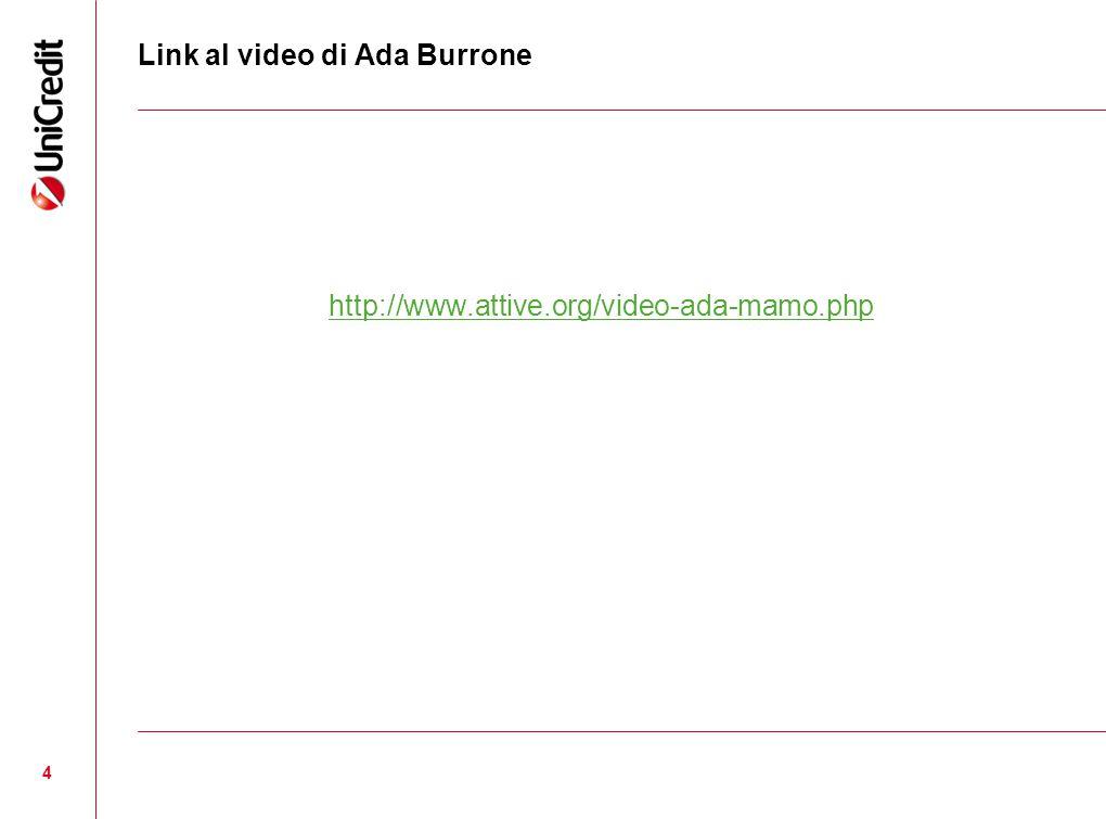 Link al video di Ada Burrone http://www.attive.org/video-ada-mamo.php 4