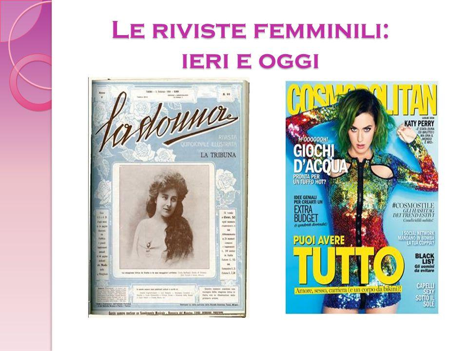 Le riviste femminili: ieri e oggi