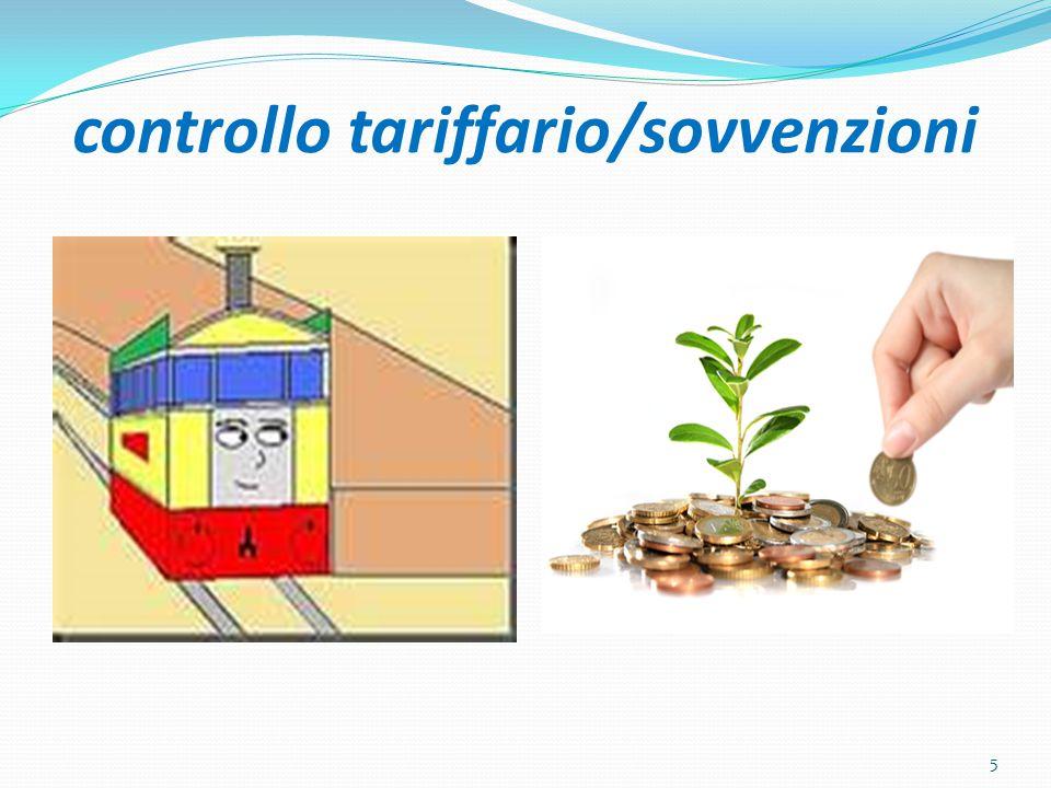 controllo tariffario/sovvenzioni 5