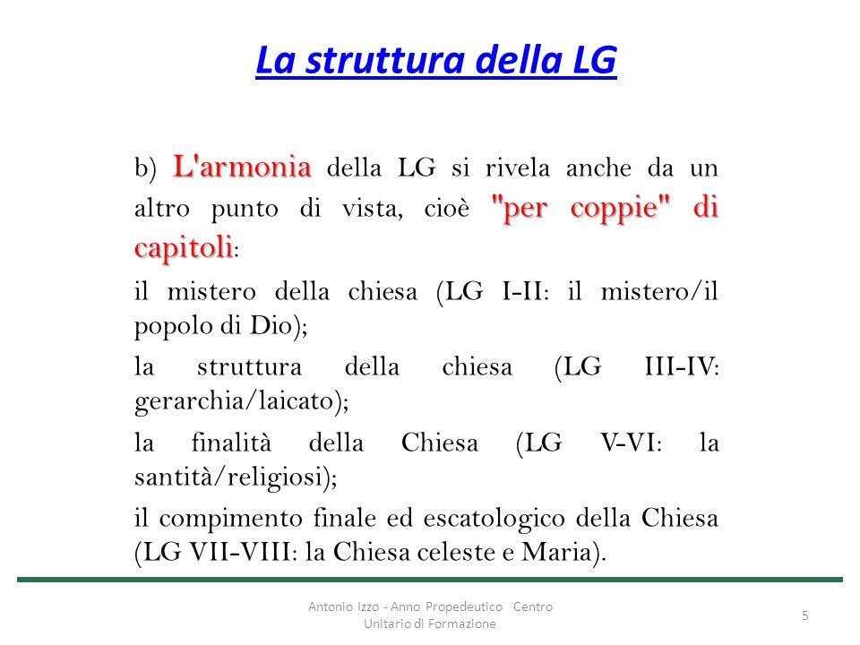 La struttura della LG L'armonia