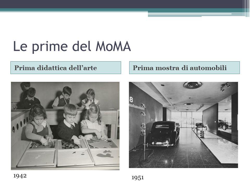 Le prime del MoMA Prima mostra con videoPrimi eventi estivi 1968 – progetto di Nam Jun Paik 1971