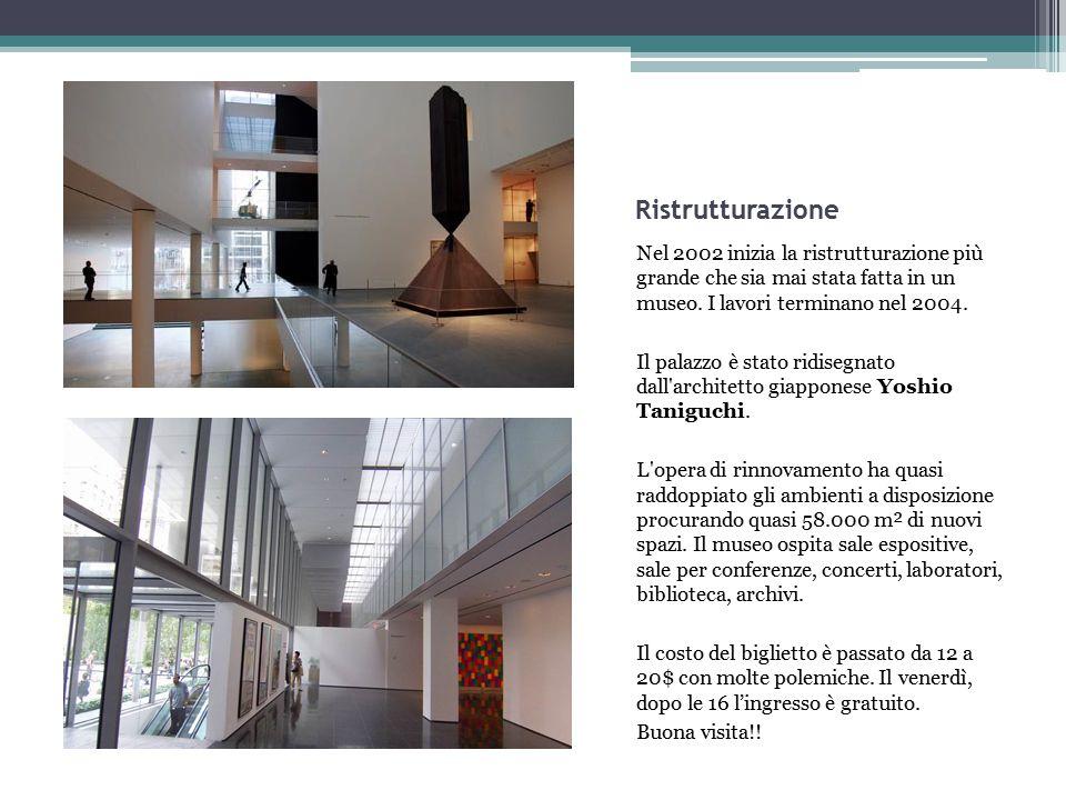 Collezione permanente e mostre temporanee La collezione permanente sono tutte le opere d'arte che appartengono ad un museo.
