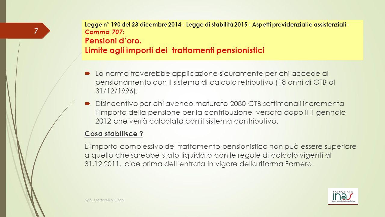 Testo di legge Comma 115 Entro il 31 gennaio 2015 gli assicurati all'assicurazione generale obbligatoria, gestita dall'INPS, e all'assicurazione obbligatoria contro le malattie professionali, gestita dall'INAIL, dipendenti da aziende che hanno collocato tutti i dipendenti in mobilità per cessazione dell'attività lavorativa, i quali abbiano ottenuto in via giudiziale definitiva l'accertamento dell'avvenuta esposizione all'amianto per un periodo superiore a dieci anni e in quantità superiori ai limiti di legge e che, avendo presentato domanda successivamente al 2 ottobre 2003, abbiano conseguentemente ottenuto il riconoscimento dei benefìci previdenziali di cui all'articolo 47 del decreto-legge 30 settembre 2003, n.